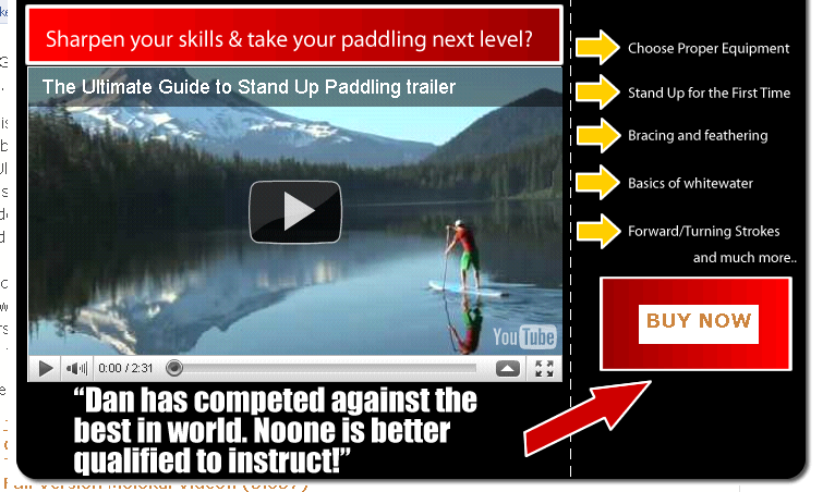 Dan Gavere – New SUP instructional video ULTIMATE GUIDE TO STAND UP PADDLING