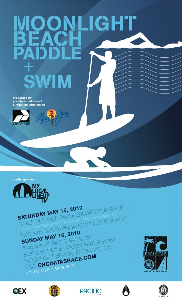 Event &#8211; The Moonlight Beach Paddle and Swim 2011