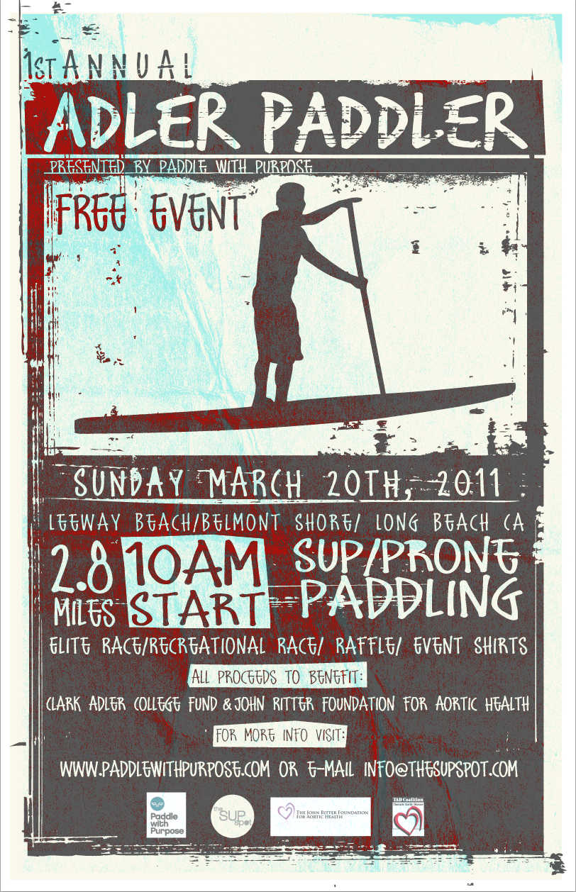 1st Annual ADLER PADDLER – Race Event