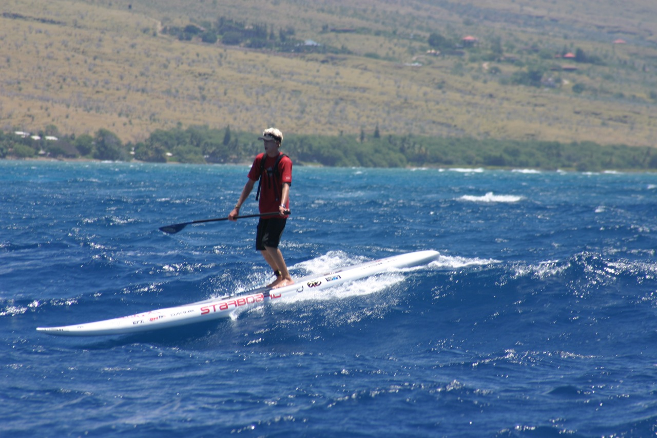 Connor Baxter wins Maui to Molokai Crossing