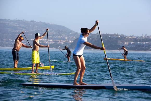 Images from the Paddle for Humanity