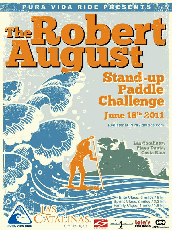 Robert August Inaugural Stand Up Paddle Challenge