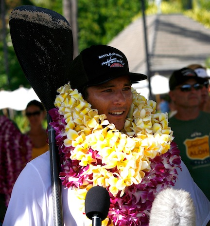 Battle of the Paddle Hawaii – Ching and Grant in for a Battle!