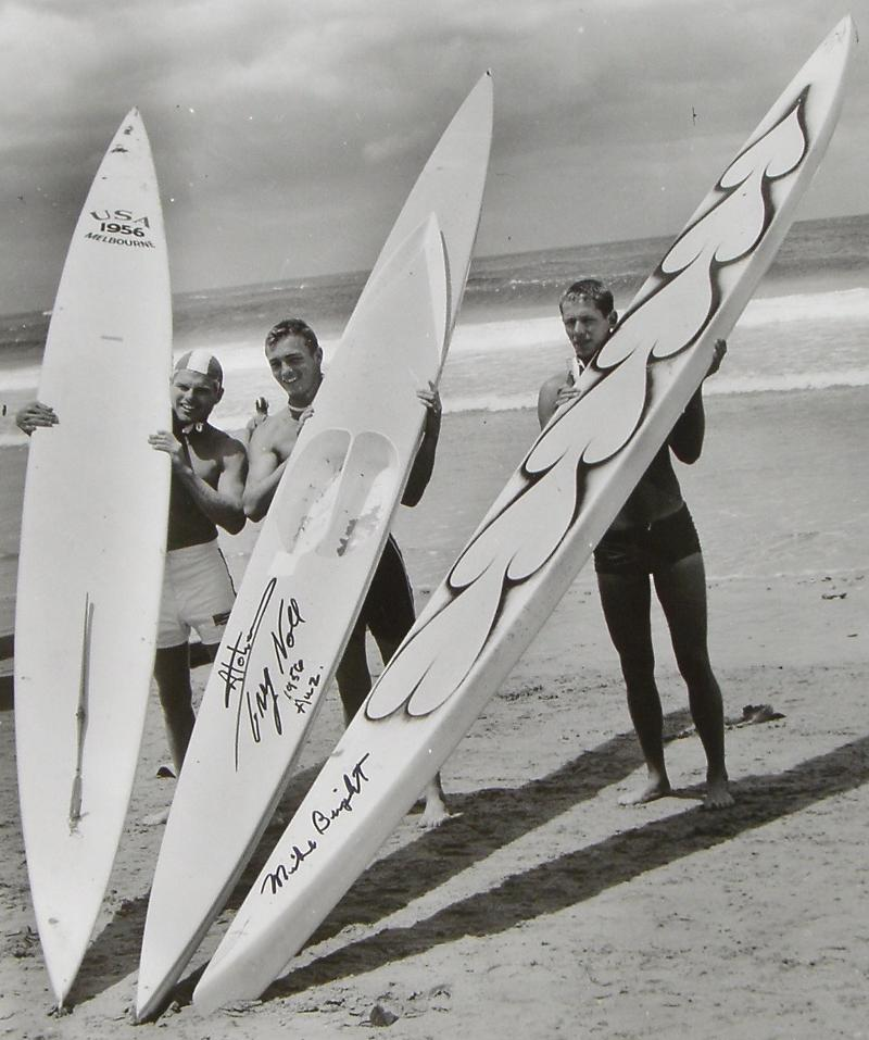 Vintage Paddleboards on Auction