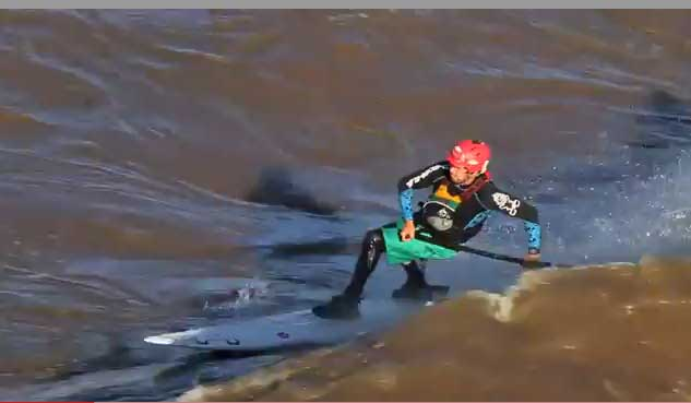 Dan Gavere and Friends – Colorado High Water Epic SUP Surf
