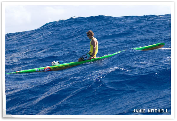Watermans Jamie Mitchell Dominates Cline Mann Paddleboard race on road to 10th Molokai2Oahu victory