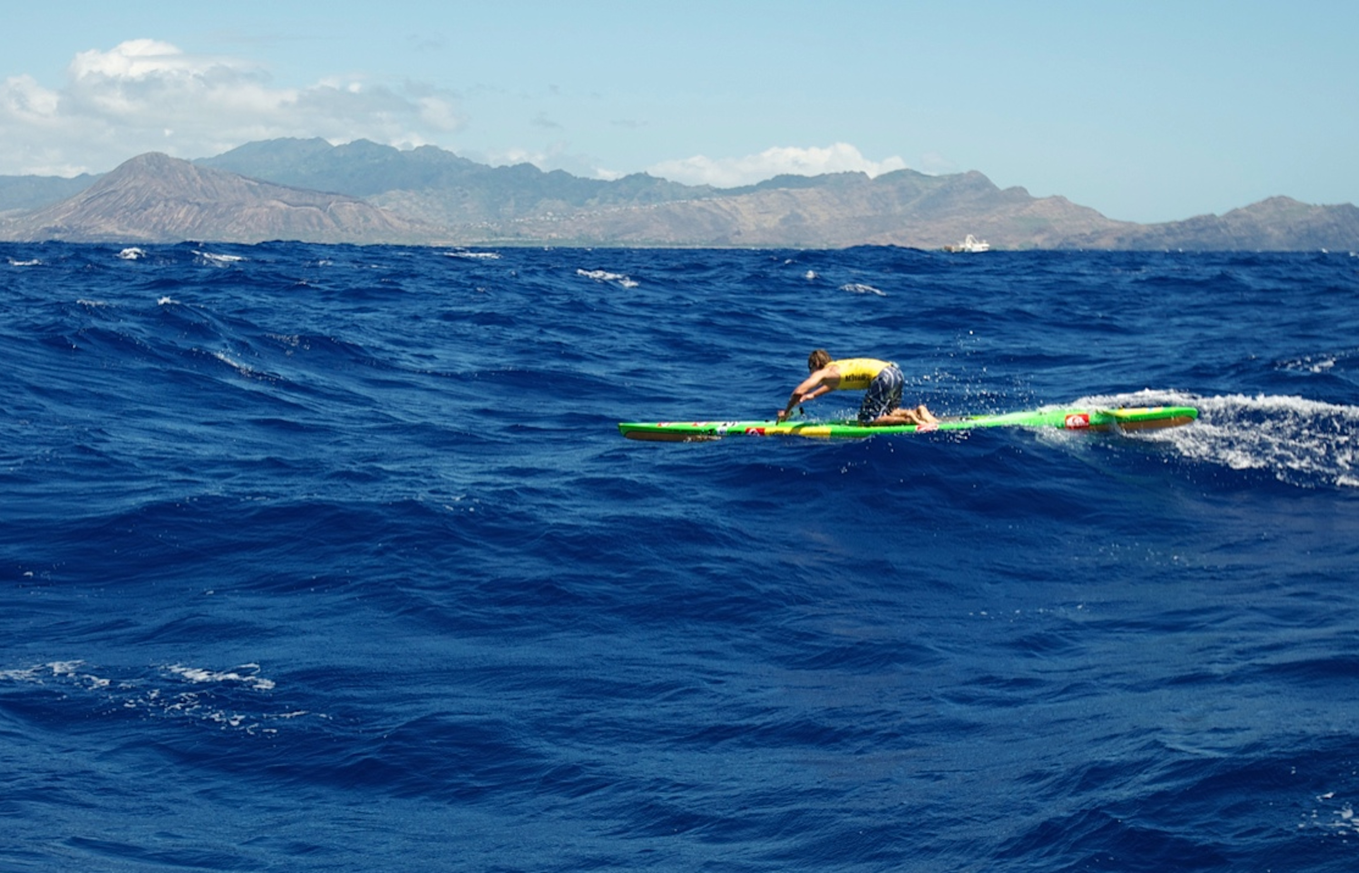 Mitchell Claims his 10th Molokai Win!