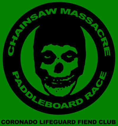 9th ANNUAL CORONADO CHAINSAW MASSACRE PADDLEBOARD RACE 2011