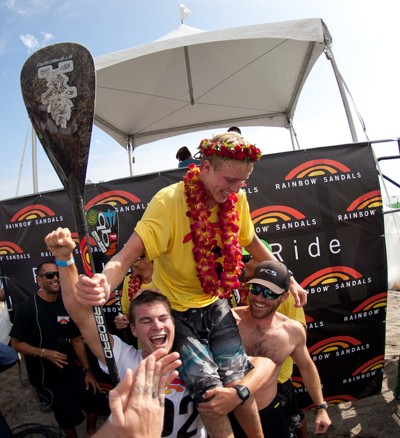 Connor Baxter wins 2011 Battle of the Paddle