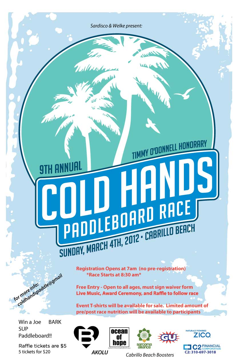 2012 9th Annual Cold Hands Paddle Race