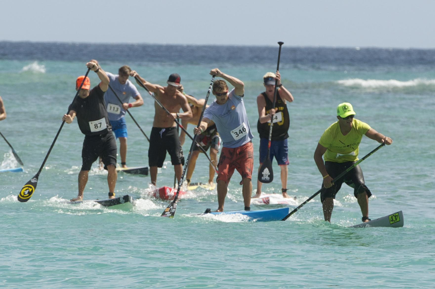 "Race Results – Elite ""Survivor SUP"" Waikiki Paddle Festival"