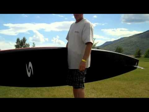 Joe Bark talks about latest SUP design for Surftech 14 Dominator