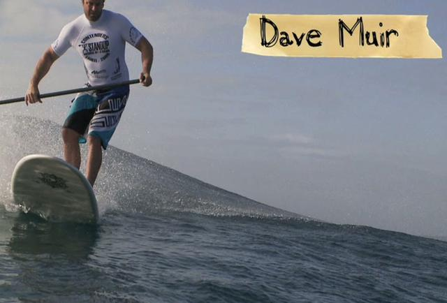 Dave Muir preparing for Waterman League in Tahiti
