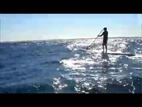 Chris Bertish Atlantic Ocean SUP Crossing