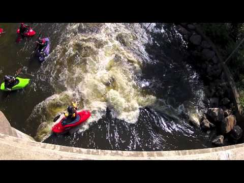 Whitewater Kayaking Wausau WI