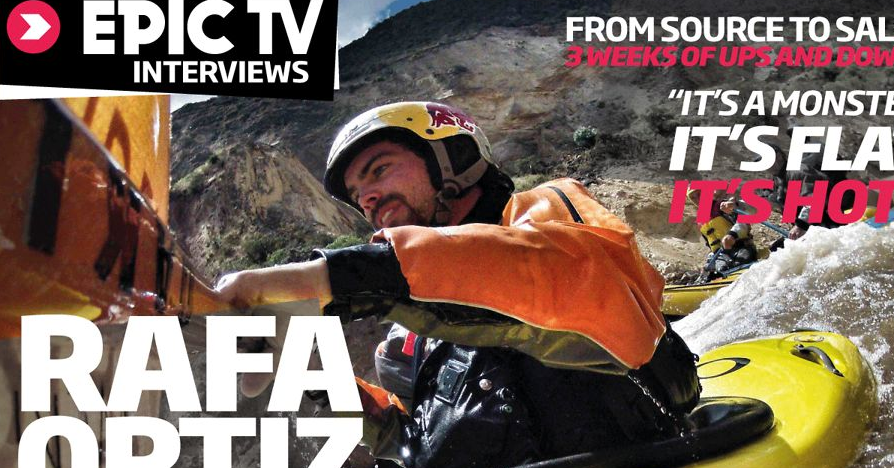Whitewater | Rafa Ortiz – The Fastest Man To Solo The Amazon