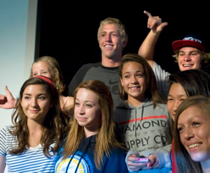 Connor Baxter Speaks Out Against Drugs at Orange County School