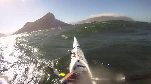 Cape Town&#8217;s Millers Run on a SurfSki