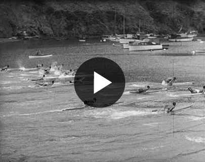 Catalina Paddleboard Race 1938