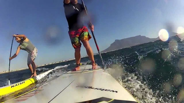 Cape Town is Downwind Heaven – Stand Up Paddling in South Africa