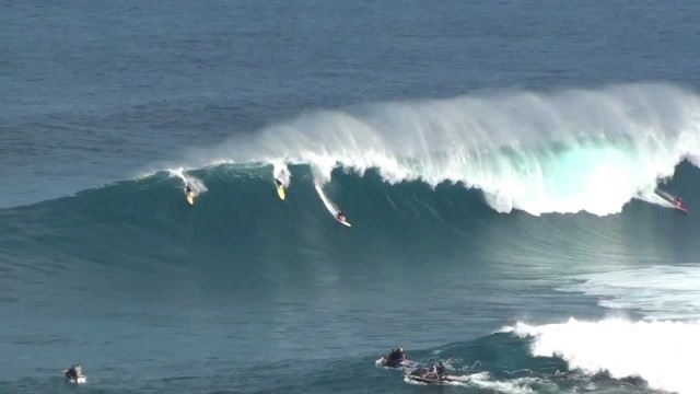 Spaz Out to 24 Paddle-in Sessions at Jaws Maui