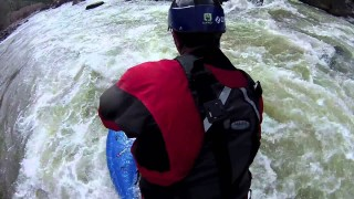 Ken Hoeve &#8211; Drift Innovation Ghost HD spin camera river SUP run on the Colorado river