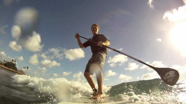 Zen Waterman &#8211; How to catch a wave on a SUP