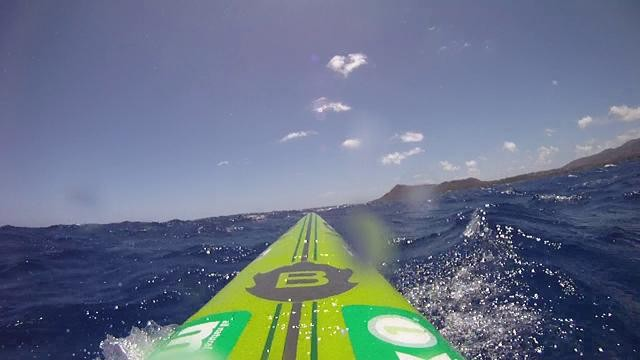 Paddleboard Hawaii Kai Run on Bark Unlimited