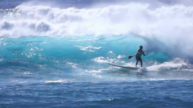Epic 8-12ft Makaha SUP at the Quiksilver Contest