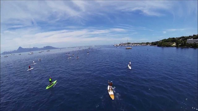 Quad Copter Epic Master Edit &#8211; SUP Racing in the South Pacific