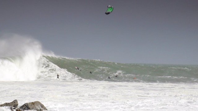 Hard Learning KiteSurfing Ireland Slabs