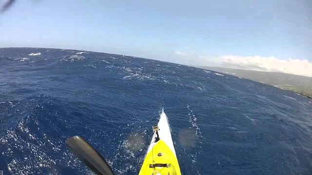 Downwind SurfSki and OC1 Reunion