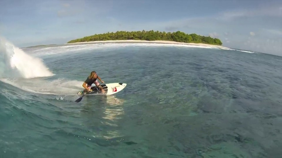 SUP Surf Maui Boy Bernd Roediger Finding Magic in the Solomons