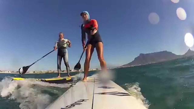 [SUP] Sick Cape Town Downwinding Action