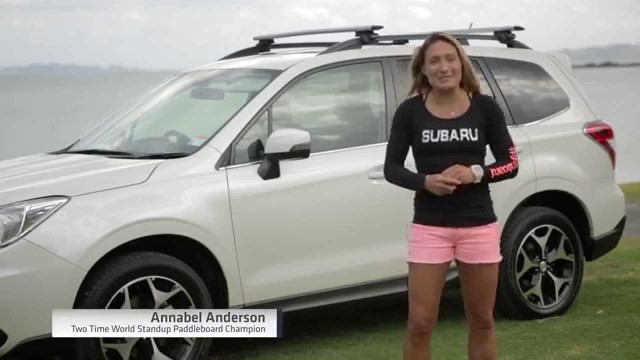 Annabel Anderson on Transporting Your SUP Board