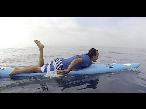 Paddleboarding at the Crossfit Games 2015