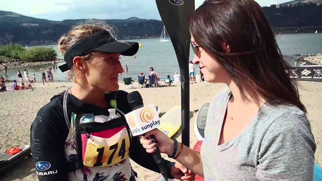 Annabel Anderson SUP Interview – Naish Columbia Gorge Paddle Challenge 2014
