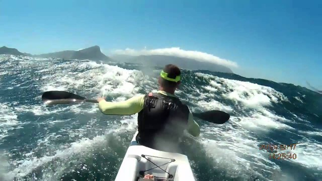 Incredible Surfski Downwind – Millers Run Dec  2013