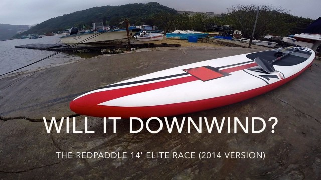 Will it downwind? RedAir 14′ Elite Race INFLATABLE SUP (2014)
