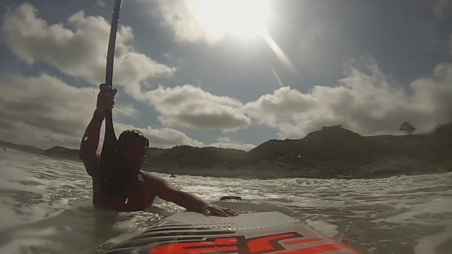 Raglan SUP Surf 28 December 2015