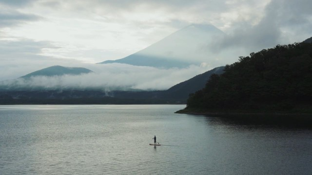Stand up paddle in Japan
