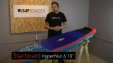 """SUP Review – 2016 Starboard Hyper Nut 6'10"""" / Surf SUP"""