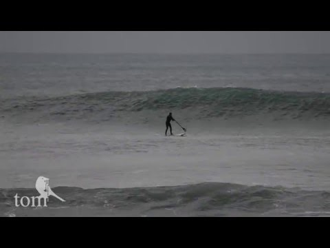 Surfing Cornwall 2016 Barrels Standup Paddle Boarding Sup Surf Pipeline
