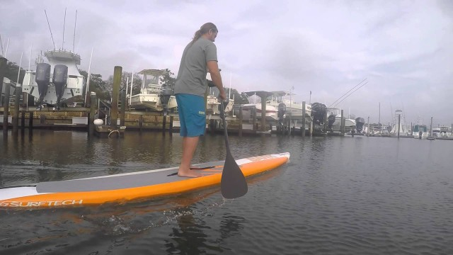 Surftech 2016 Bark Vapor SUP Review | Stand Up Paddle Board Reviews by Carolina Paddleboard Co