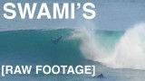 Swami's Surfing January 30th 2016 [RAW FOOTAGE] Big Waves and John the Shaman
