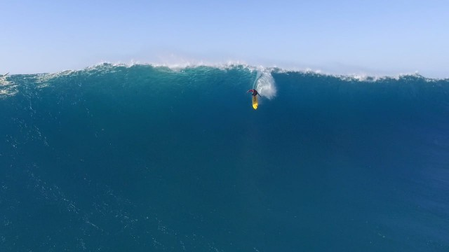 Waimea Bay Surfing Drone Video.