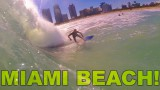 Surfing in SOUTH BEACH!