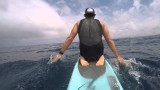 PaddleAthlete – Smiley and I take a bump run