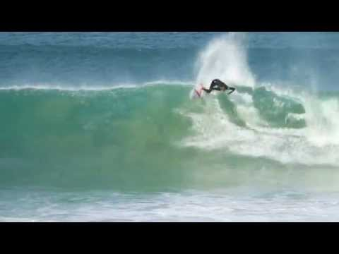 Steve Sawyer at the Billabong Pro J-Bay