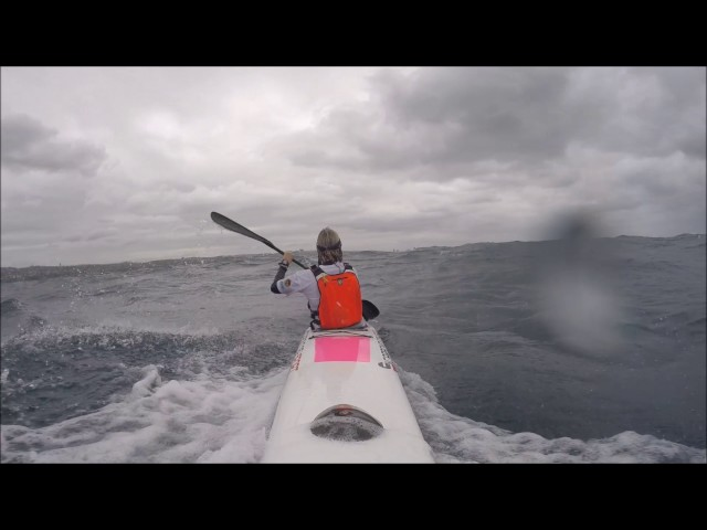 Downwind 35 Knots  3 Metre Swell October 2016
